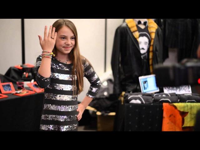 Audiopark with CAITLIN CARMICHAEL at the 2014 GBK MTV Movie Awards Gift Lounge Audiopark@GBKpreMTV