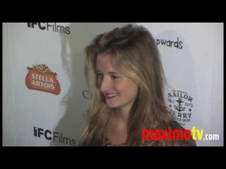 """Grace Gummer at """"Breaking Upwards"""" Premiere"""
