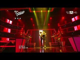 """보이스코리아 시즌2 - [Mnet 보이스코리아2 Ep.8] 남유희vs장규희 - """"있다 없으니까"""""""
