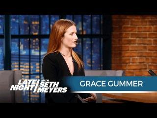 Grace Gummer Talks Mr. Robot
