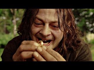 Смеагол (Голлум) убивает своего друга Деагола ради Кольца. Властелин колец: Возв ...