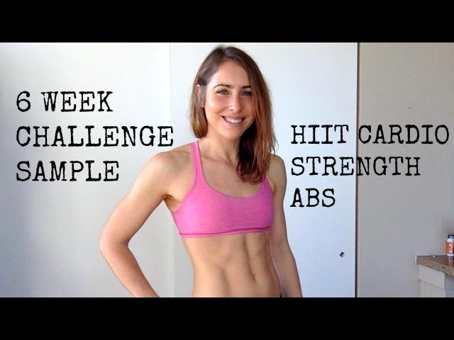 STRENGTH PLYO ABS HIIT 6 Week Challenge Sample