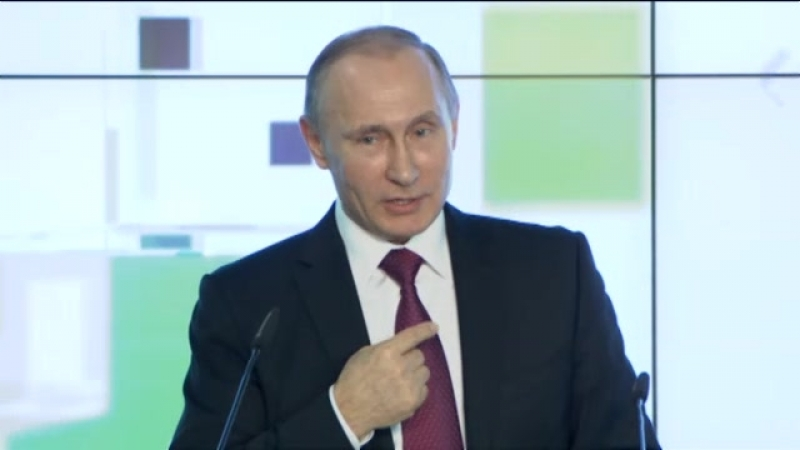 Выступление на праздновании 10 летия начала вещания телекомпании RTTV Russia Today