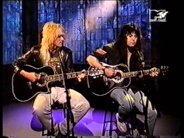 W A S P Hold On To My Heart Live Acoustic 1992 HQ