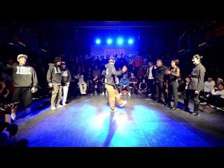 Xebec vs Waacking assassin - Round of sixteen @Battle is over 2015