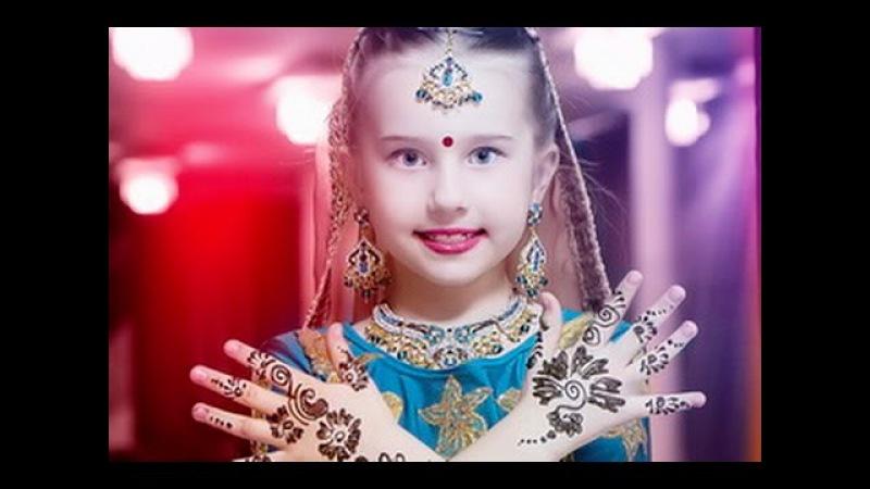Амалия танцует индийские танцы 7 лет Amalia and her Indian dance 7 years