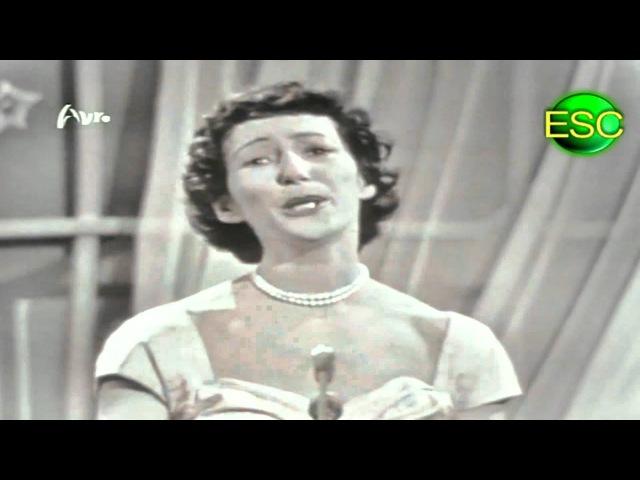 Eurovision 1958 - Denmark - Raquel Rastenni - Jeg Rev Et Blad Ud Af Min Dagbog
