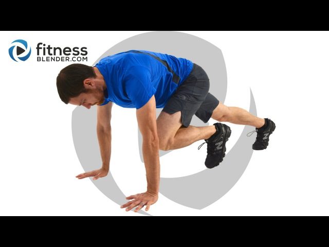 15 Minute HIIT Metabolism Booster Total Body and Abs HIIT Workout