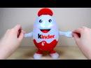 Киндерино Самый Большой Киндер Сюрприз на русском языке Kinder Surprise Kinderino Eggman Kinderman