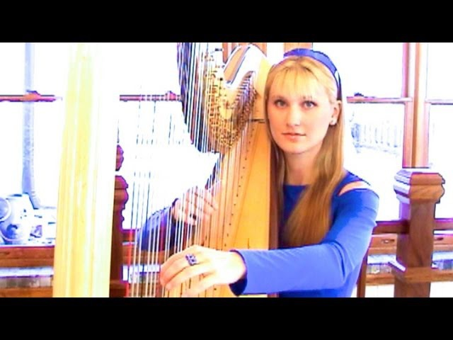 COLDPLAY Clocks HarpTwins Camille and Kennerly HARP ROCK