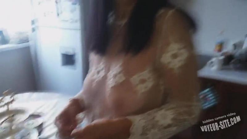 Любящий сын провожает русскую маму на работу. Шедевр.Мелодраматический инцест( любительское видео boobs мама mature milf incest_->