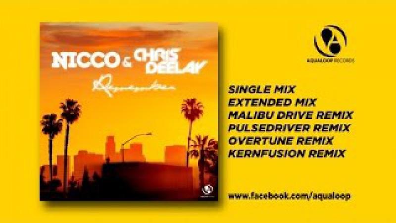 NICCO CHRIS DEELAY Remember Single Mix