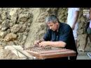 Barcelona Street Music : Cimbalom player from Belarus in Park Güell 1 (HD)
