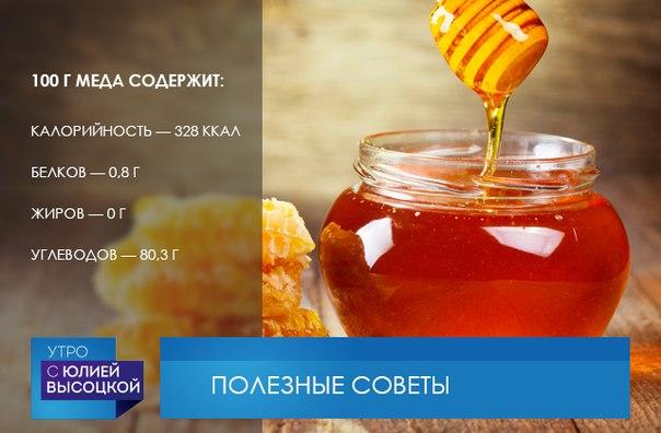 Калорийность Меда Для Похудения.
