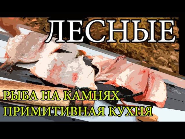 Дикая кухня ЖАРЕНАЯ РЫБА НА КАМНЯХ Cooking Fish With Hot Rocks