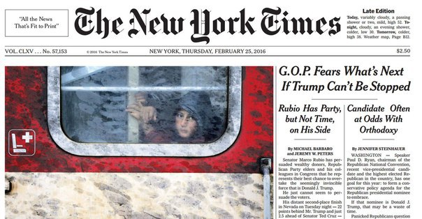 The New York Times February 25 2016