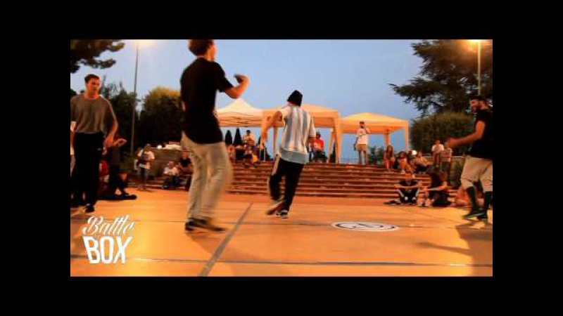 ORIGINART VS CILLO EVY | Semifinal | Bboyz Reaction 2015