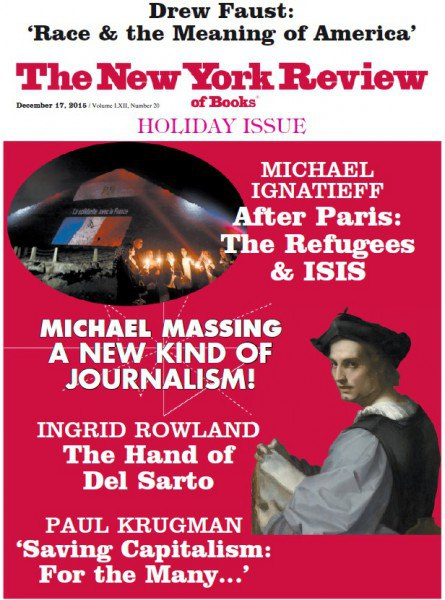 The New York Review of Books - December 17, 2015