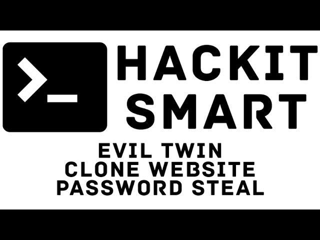 Evil Twin AP Clone Website HTTRACK Password Steal PART 2
