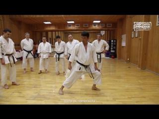 Семинары Олега Цоя по базовой технике каратэ Шотокан