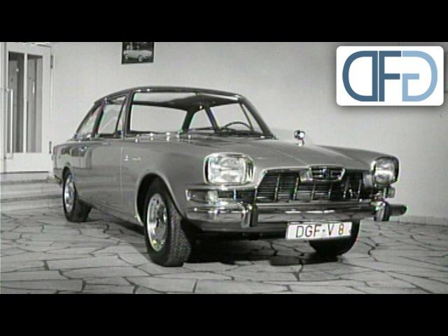 Glas 2600 V8 Glaserati auf der IAA 1965