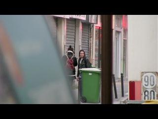 EXCLUSIVE - Kristen Stewart and Soko walk in Paris street