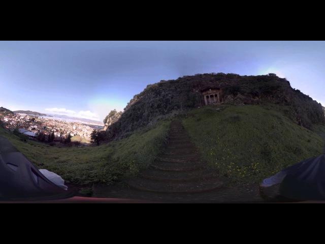 Fethiye - Amyntasın Mezarına 360 Yürüyüş