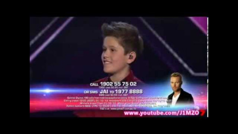 Jai Waetford Winner's Single Your Eyes Grand Final The X Factor Australia 2013