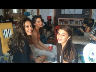 Trishool Dance Academy on Instagram: Another surprise for all the students here at Trishool Dance Academy! A shoutout from Jacqueline Fernandez, Nargis Fakhri & Lisa Haydon.