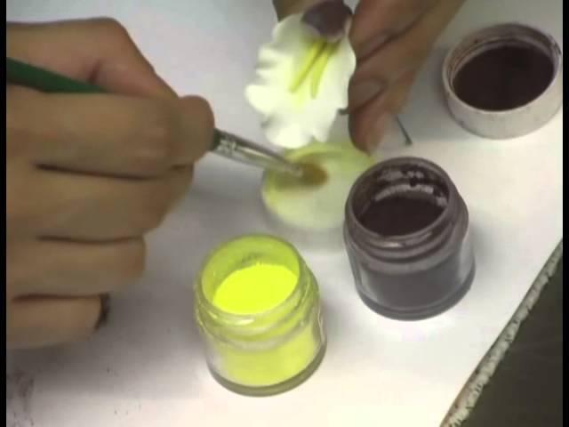 Making a Gumpaste Cymbidium Orchid by Petal Crafts