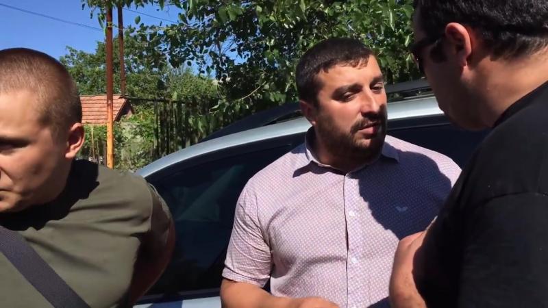 Овдиополь Одесская область 31 августа 2016 Одесский правый сектор приехал на разборку из за российскую имперку