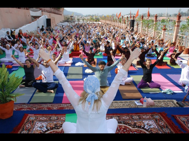 International Yoga Festival Parmarth Niketan Rishikesh India