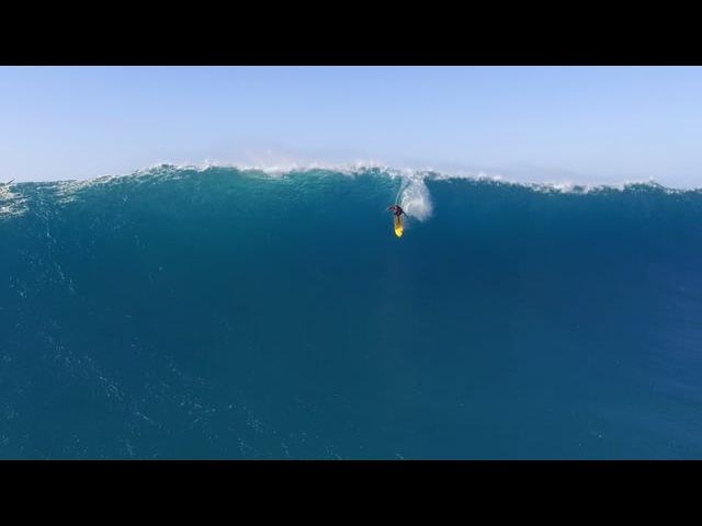 Waimea Bay Surfing Drone Video