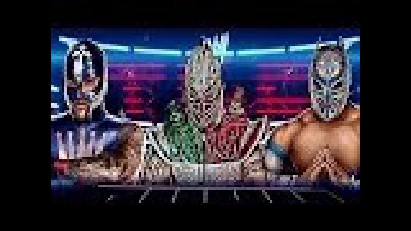 WWE/NXT/AAA Rey Mysterio, Myzteziz and Kalisto (Masked Marvels) ''My Pain'' HD