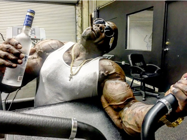Kali Muscle I Don't Play About My Workout MUSIC VIDEO Kali Muscle