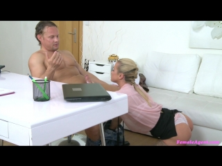 Cristal caitlin - muscular studs cock pleasures agent (2016)  pro-am, casting, bj, stockings, talking, gonzo, hardcore, all sex