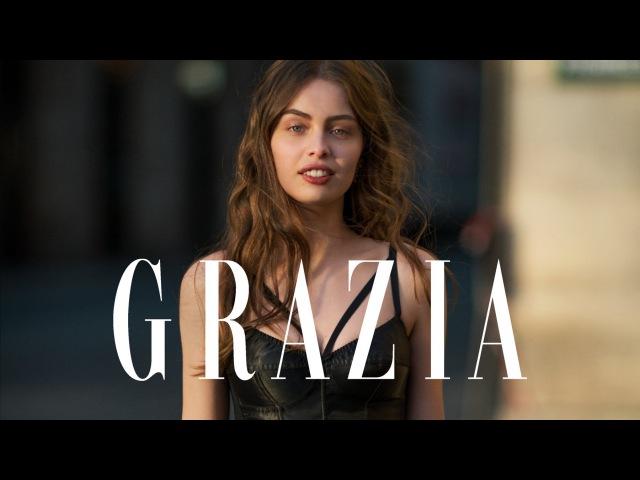 Marie-Ange Casta by Benjamin Kanarek for Grazia
