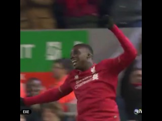 """Liverpool Goal on Instagram: """"@SheyiOjo became Liverpool's youngest FA Cup goalscorer yesterday with this wonderful goal against Exeter City! #LFC #Liverpool…"""""""
