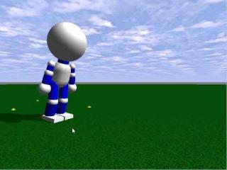 ODE(open dynamics engine) sample robot test