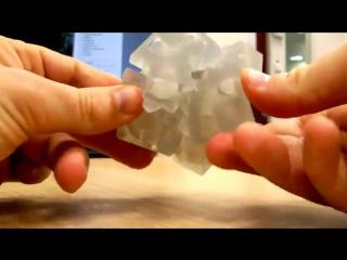 Этот куб напечатан на 3D принтере