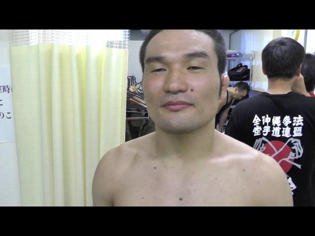 Интервью с Кацунори Кикуно, боец MMA, каратист Окинава кэмпо