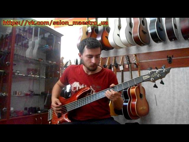 0246 Видео обзор на Отличную Бас гитару Cort Curbow от Салона Гитар и Комплектующих Maestro