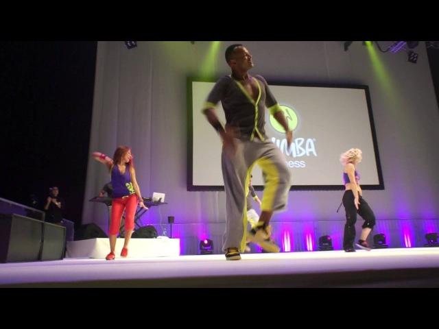 Zumba Fitness Concert Sweden 2012 Warmup crew