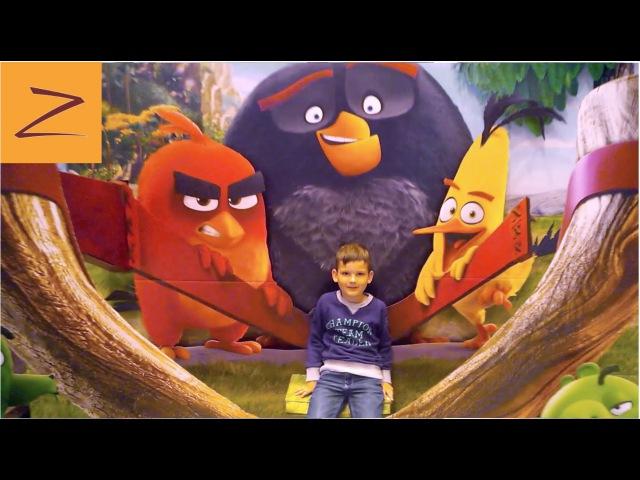 ANGRY BIRDS в кино и в McDonald's Новый Энгри Бердс Хэппи Мил в Макдональдс