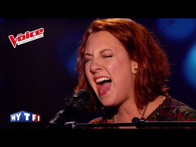 Zazie – Je ne sais pas | Jessanna Nemitz | The Voice France 2016 | Blind Audition