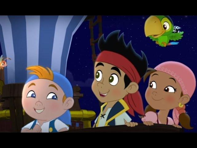 Джейк и пираты Нетландии Крабовый поход Кабби Песок времени Никогда Серия 5 Сезон 3