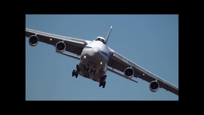 Ан-124 Взлеты и посадки, Кольцово 2015.05. An-124 Superheavy Airlift, Koltsovo 2015.05.
