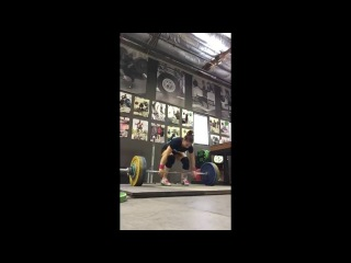 Alyssa Sulay Clean & Jerk 102kg at 63kg Bodyweight