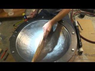 How i make handpan shells