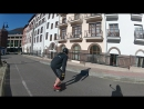 Downhill heelside stand up slides tryes xD